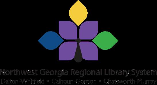 Logo para móvil del sistema regional de bibliotecas del noroeste de Georgia