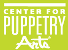 Center for Puppetry Arts Logo, linked to their website.