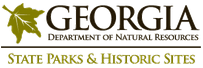 Georgia State Parks and Historic Sites logo, linked back to their site.