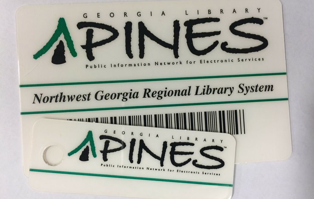 PINES Library Cards