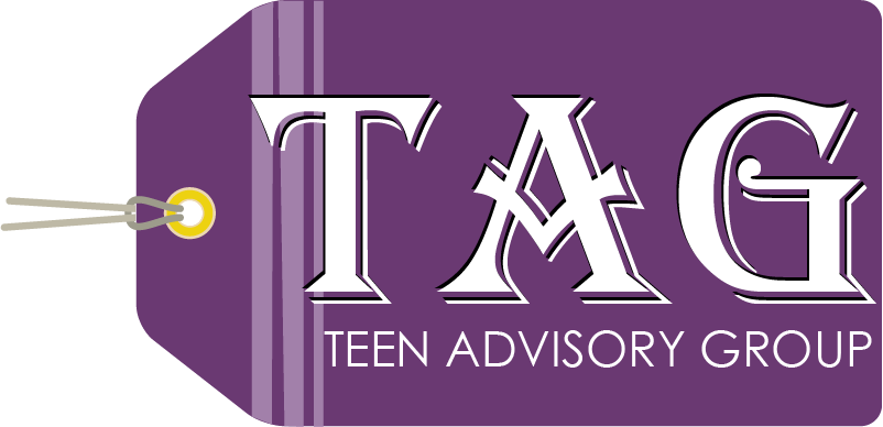Logo for the Teen Advisory Group made by Iris Petty
