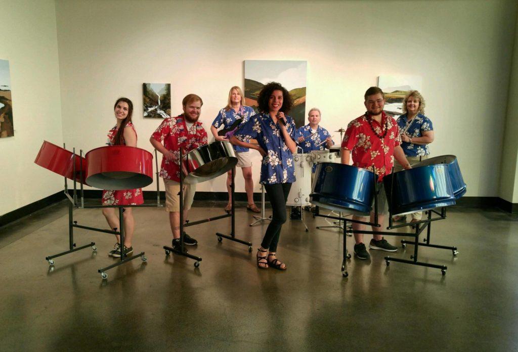 Grupo musical AmeriCalyspo.