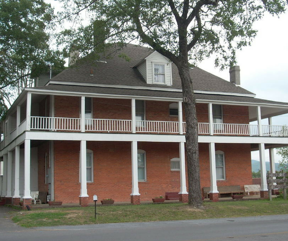 Image of the historic Wright Hotel.