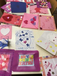 Cards created at previous kids create.
