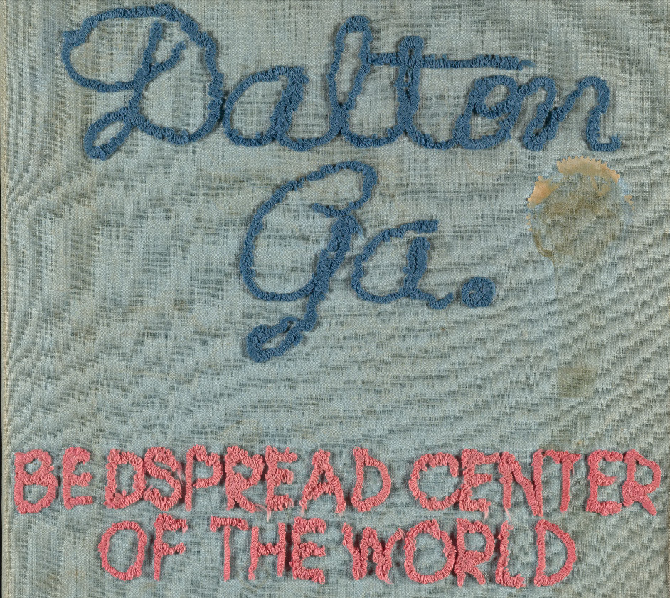 Dalton Ga, Bedspread center of the world
