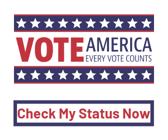 Call to check voter registration status