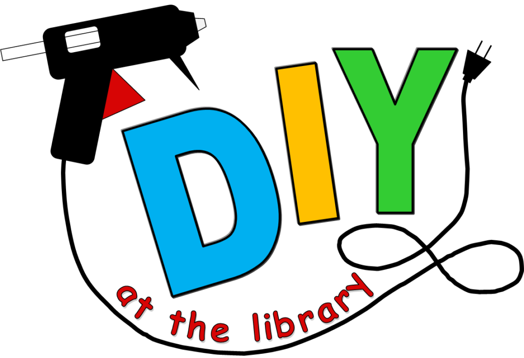 Logo de DIY at the Library