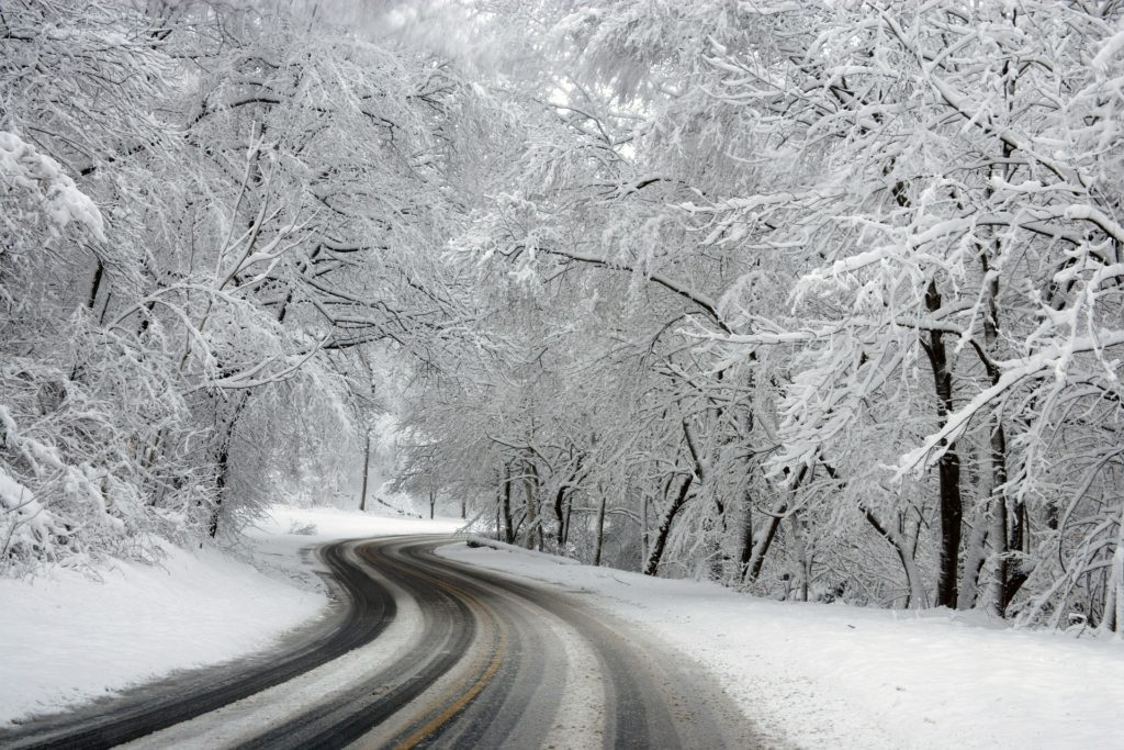 Icy Winter Roads