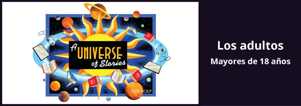 Enlace a la página del desafío de lectura de verano para adultos.