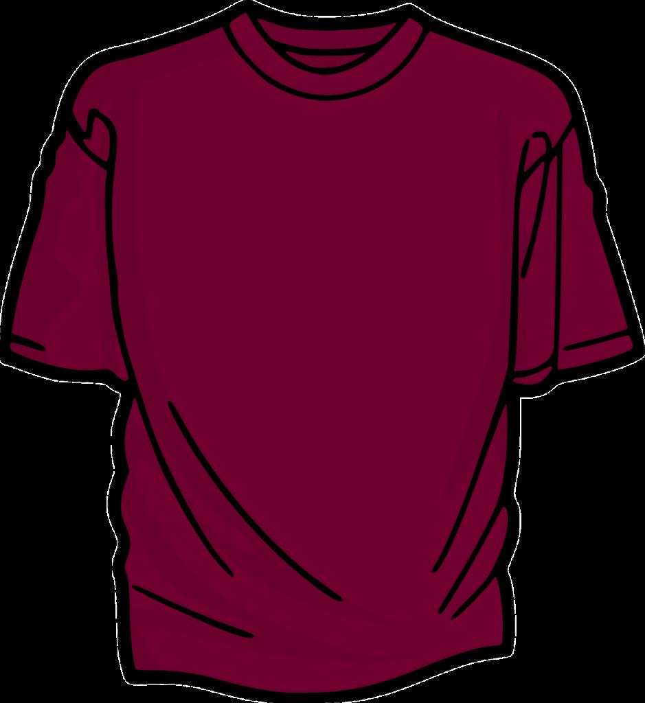 Dibujo de la camiseta
