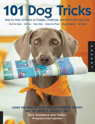 101 Dog Tricks Book Cover - Click to go to the catalog page for the book.